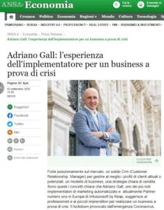 implementatore - infusionsoft partner certificato - Adriano Gall