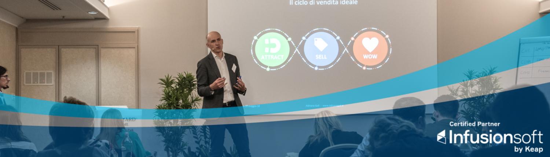 infusionsoft partner certificato - Adriano Gall il clico di vendita ideale