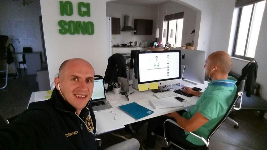 Team IO CI SONO di Roberto Cerè con Giorgian e Adriano Gall