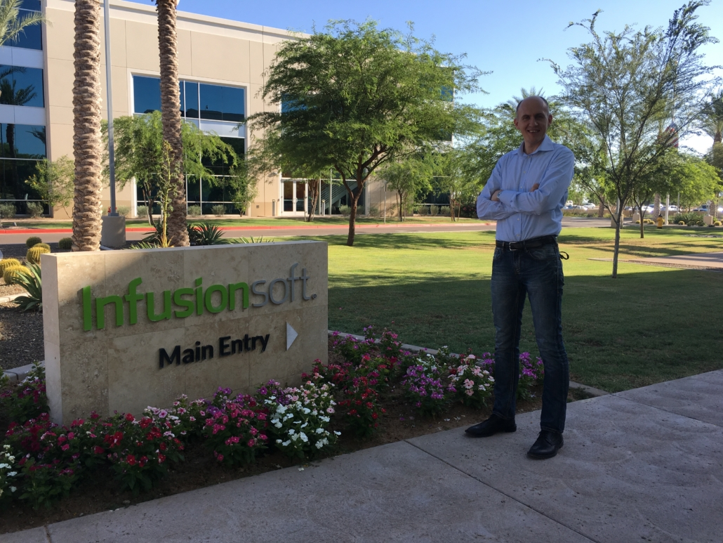 infusionsoft certified partner adriano Gall