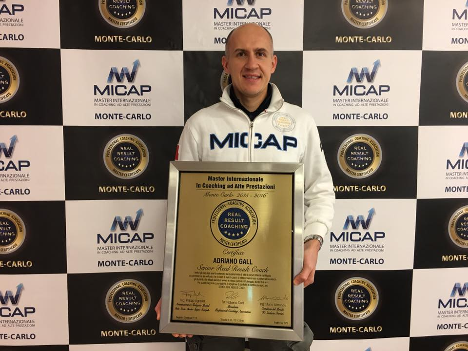 Senior Real Result Coach MICAP Adriano Gall