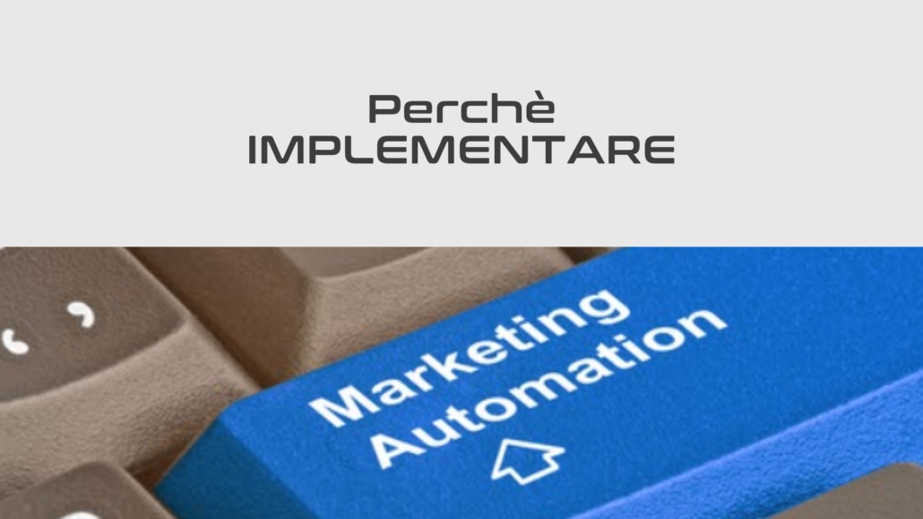 Perchè implementare la marketing automation con adriano gall e infusionsoft